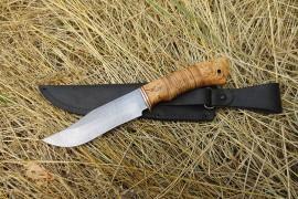 """Нож из дамасской стали """"Гюрза"""""""