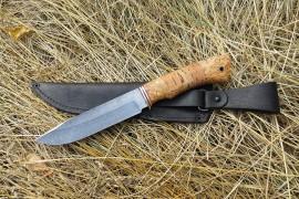 """Нож из дамасской стали """"Лань"""""""