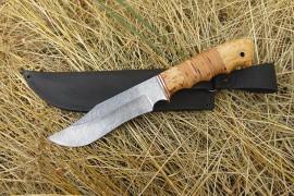 """Нож из дамасской стали """"Леший"""""""