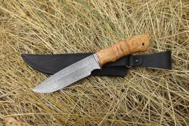 """Нож из дамасской стали """"Пума"""""""