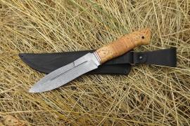 "Нож из дамасской ст. ""Сыч"""