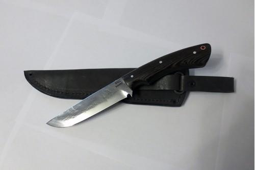 Нож Олень (малый) ц/м сталь 9ХС - работа мастерской кузнеца Марушина А.И.