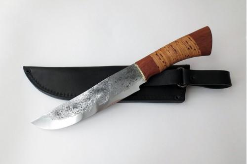Нож Таежный из стали 9ХС - работа мастерской кузнеца Марушина А.И.