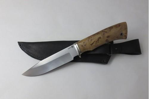Нож Гепард из стали Elmax (стаб.карагач) - работа мастерской кузнеца Марушина А.И.