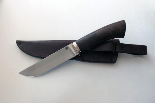 Нож Олень 2  из стали Elmax (корень ореха) - работа мастерской кузнеца Марушина А.И.