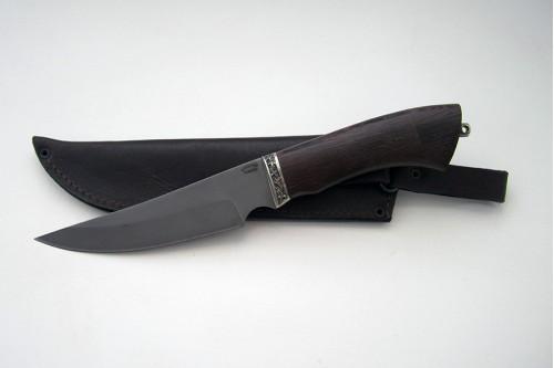 Нож Акула из стали Р6М5К5 (быстрорез) - работа мастерской кузнеца Марушина А.И.