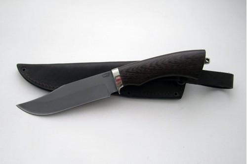 Нож Гюрза из стали Р6М5К5 (быстрорез) - работа мастерской кузнеца Марушина А.И.