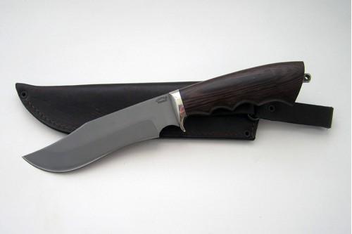 Нож Леший из стали Р6М5К5 (быстрорез) - работа мастерской кузнеца Марушина А.И.