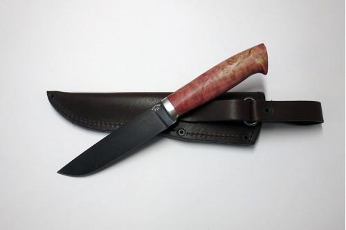 """Нож """"Пантера 1"""" (ст. к/б) из стали Р12 (быстрорез) - работа мастерской кузнеца Марушина А.И."""