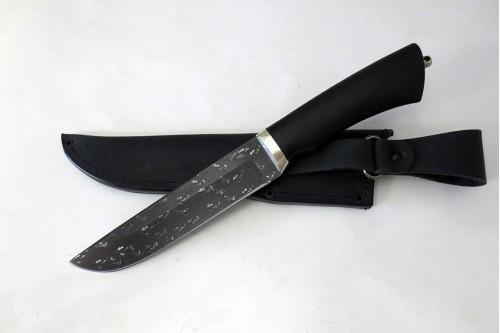 Нож Луч из инструмент. стали ХВ5 (алмазка) - работа мастерской кузнеца Марушина А.И.