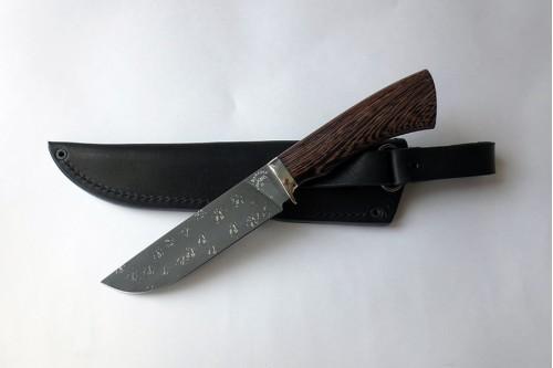 Нож Олень (малый) из инструмент.стали ХВ5 (алмазка) - работа мастерской кузнеца Марушина А.И.
