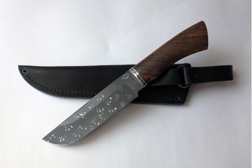 Нож Охотник из инструмент. стали ХВ5 (алмазка) - работа мастерской кузнеца Марушина А.И.