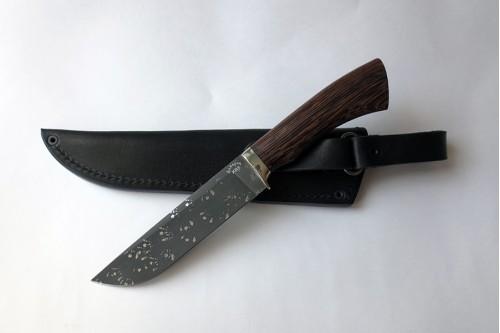 Нож Пантера (малый) из инструмент. стали ХВ5 (алмазка) - работа мастерской кузнеца Марушина А.И.