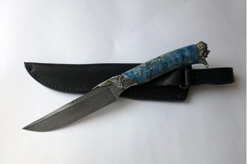 """Нож """"Луч"""" (мал. х/л - Пират м.) - работа мастерской кузнеца Марушина А.И."""